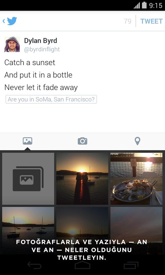 Twitter Android Apk Uygulama resimi 5