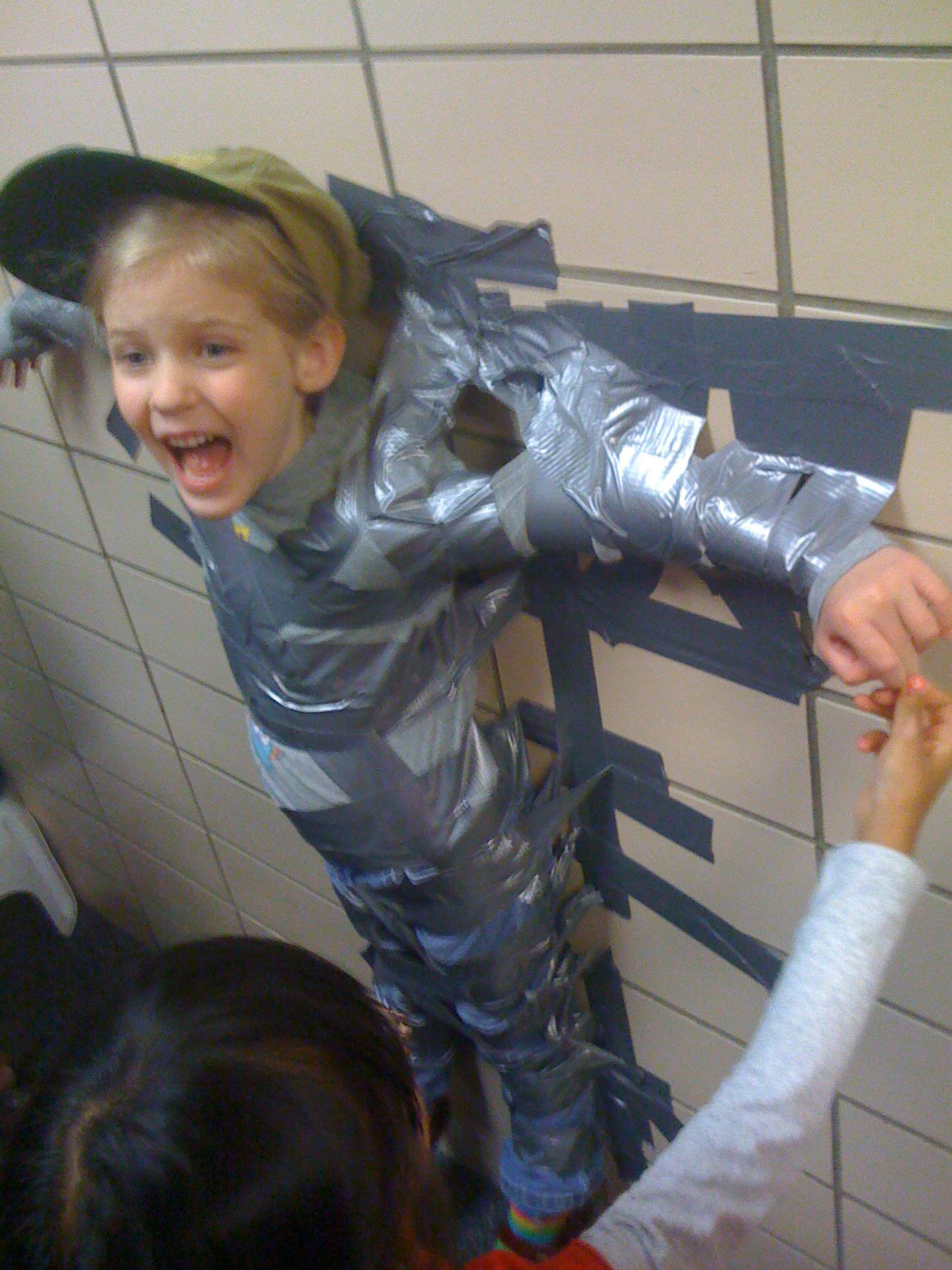 duct tape kids