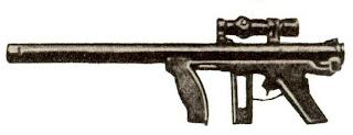 Grot CH-9/25 Submachine Gun