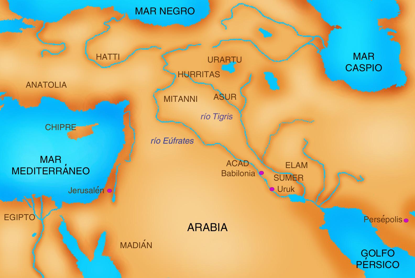 EL RINCON DE MANOLO MESOPOTAMIA Y EGIPTO