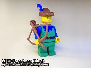 LEGO Forestman (blue)