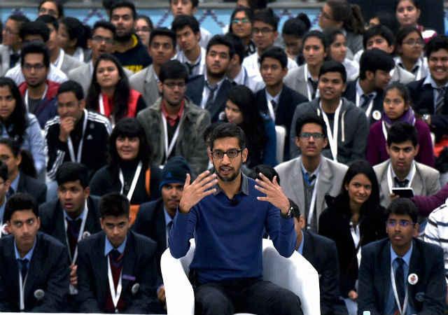 भविष्य की राह युवा भारत से निकलेगी: पिचई