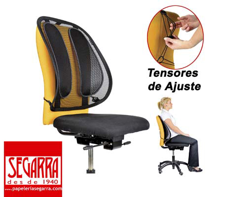 oferta respaldo ergonomico silla de oficina solo 29