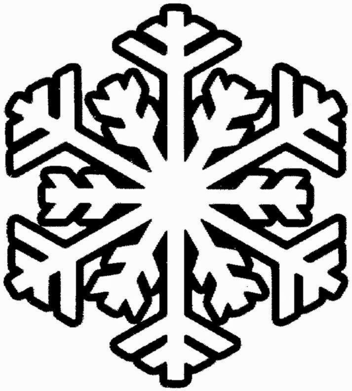 snowflake coloring pages for children - photo#7