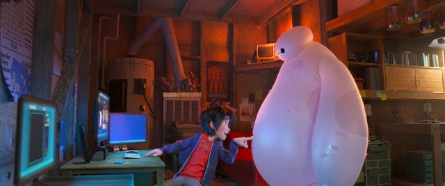 Big Hero 6 movie still hiro baymax