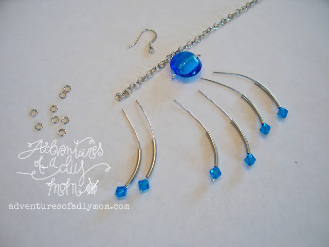 How to Make Sapphire Dangle Earrings