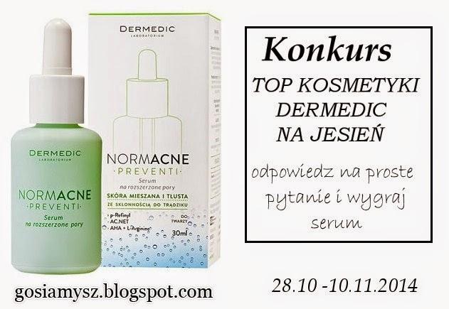Konkurs z Dermedic