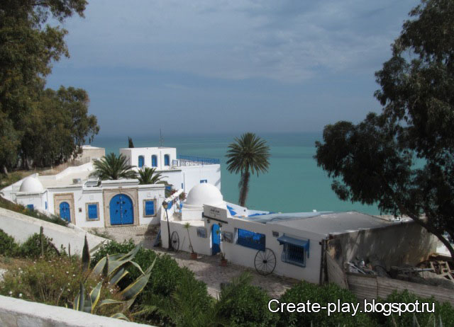 Sidi-Bou-Said, Carthago, Тунис