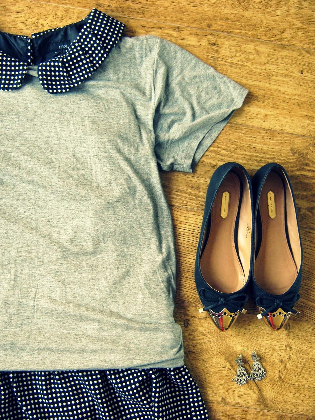 Spotty Dress Outfit