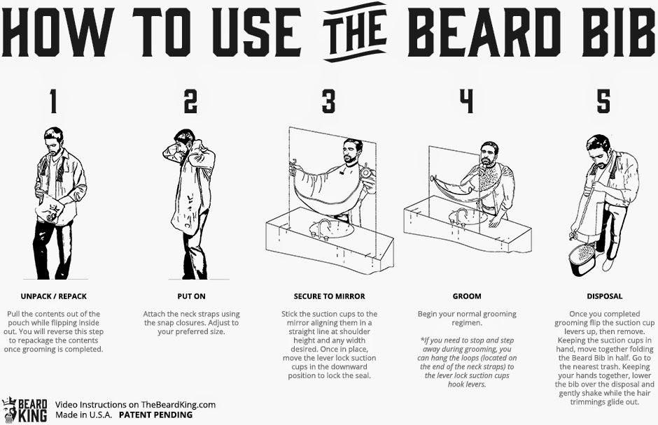 fun fantastic invention the beard bib to air tonight on. Black Bedroom Furniture Sets. Home Design Ideas
