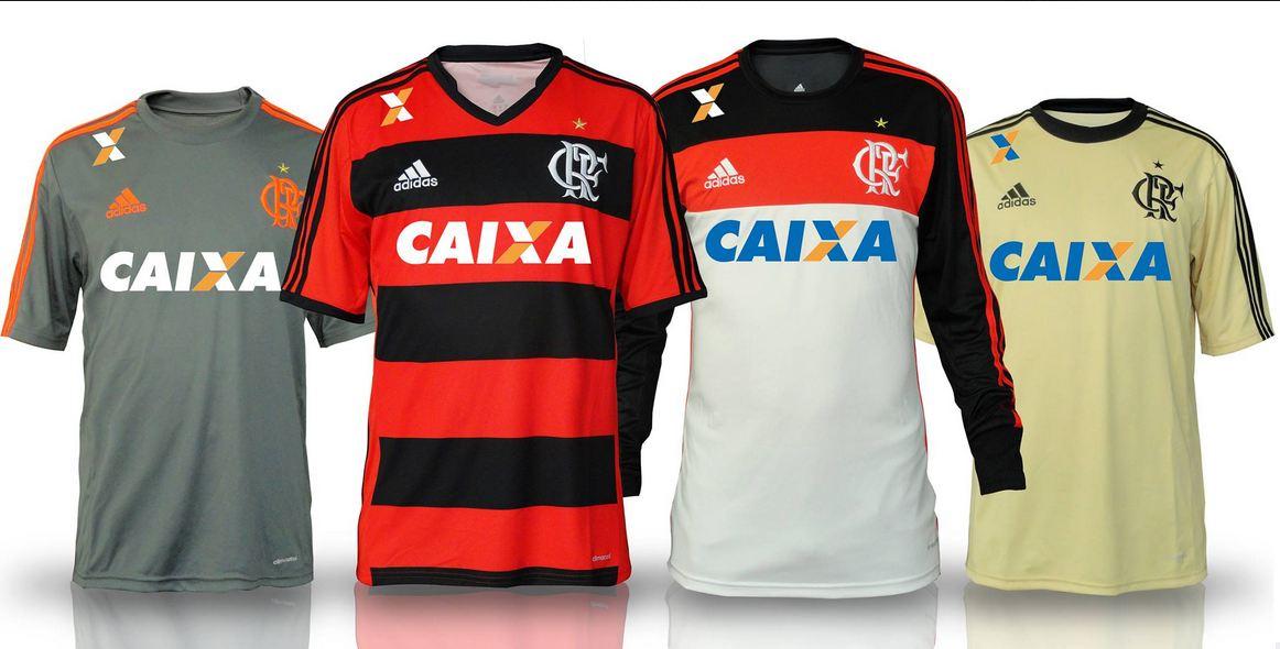Tambem foi apresentada uma camisa de goleiro em um tom amarelo claro. O  patrocinador do Flamengo para a temporada de 2013 828dd863cc845