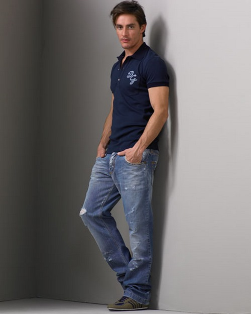 summer new brand of high quality men's fashion casual modal