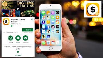 BIG TIME USD 10,00 só para jogar