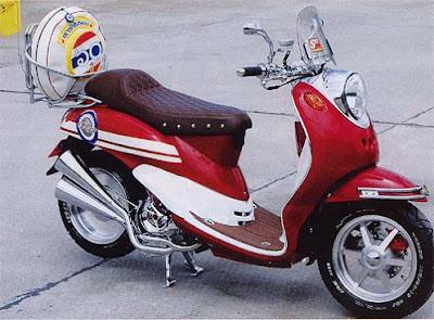 Modifikasi Yamaha Mio Fino