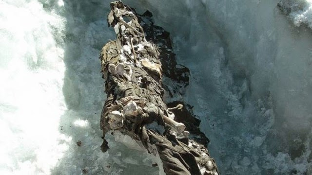 Los hallazgos más increíbles encontrados en los glaciares.