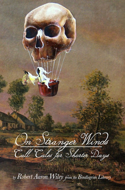 With cover art The Traveling Ghost by David Irvine, and foreword by Daniel Boyer, this new book by Bindlegrim offers both kitsch and horror