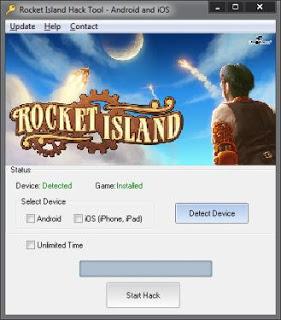 rocket island free hack tool android ios