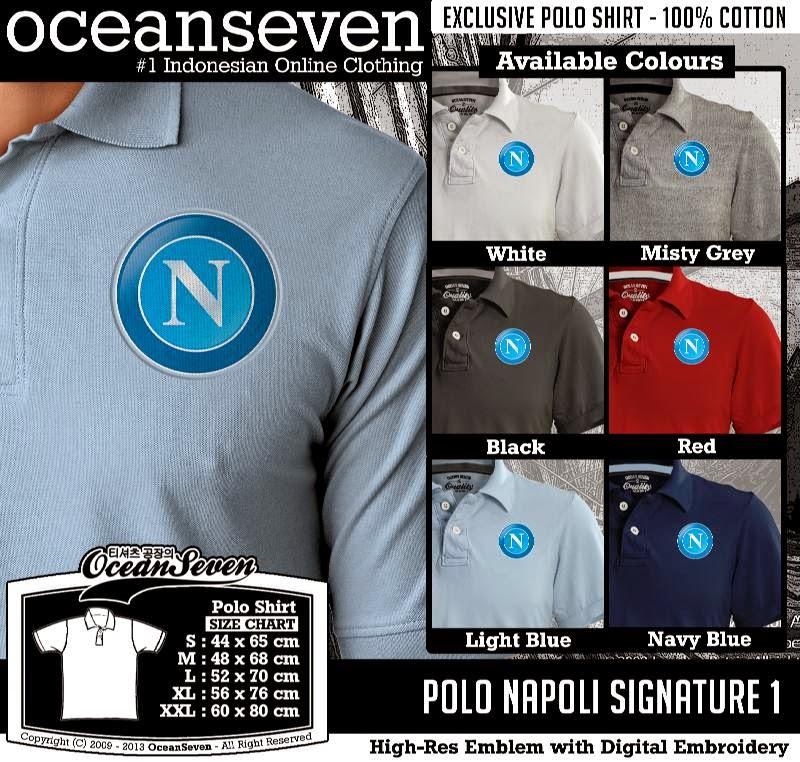 Kaos Polo Napoli Signature 1