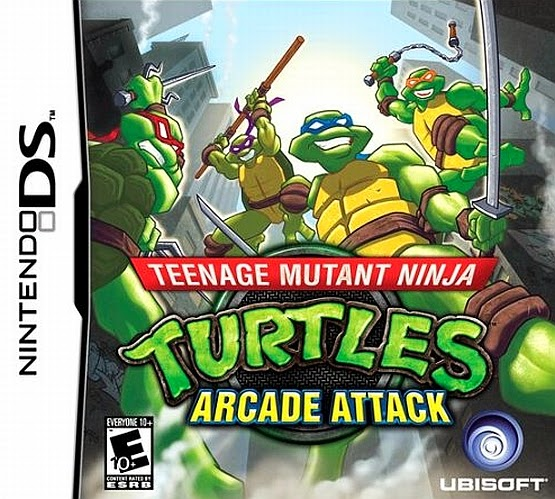 Teenage Mutan Ninja Turtles: Arcade Attack nsd rom download free descargar gratis