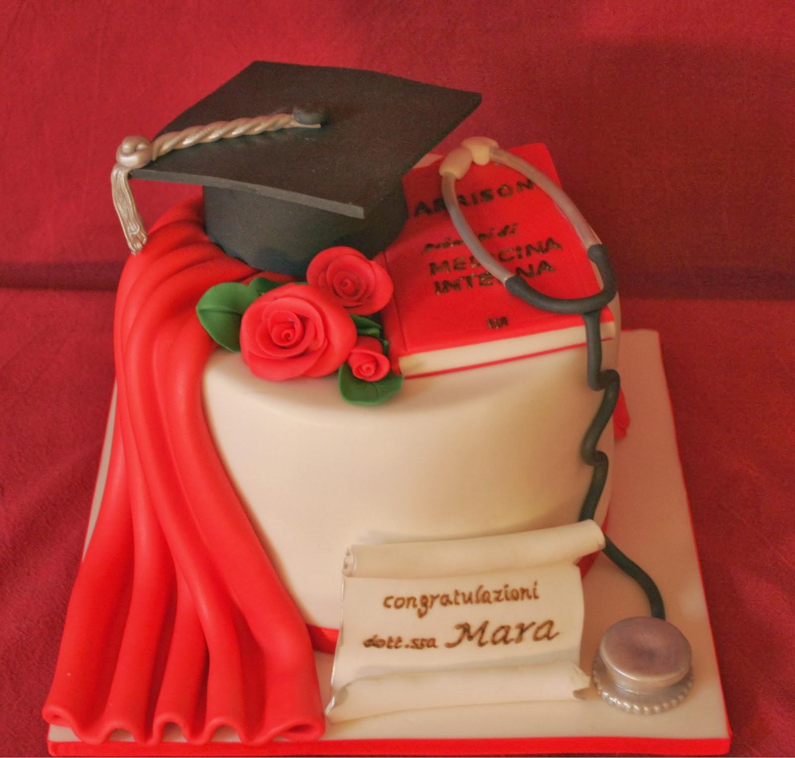 Amato Una laurea in medicina! | Ma che torte DA74