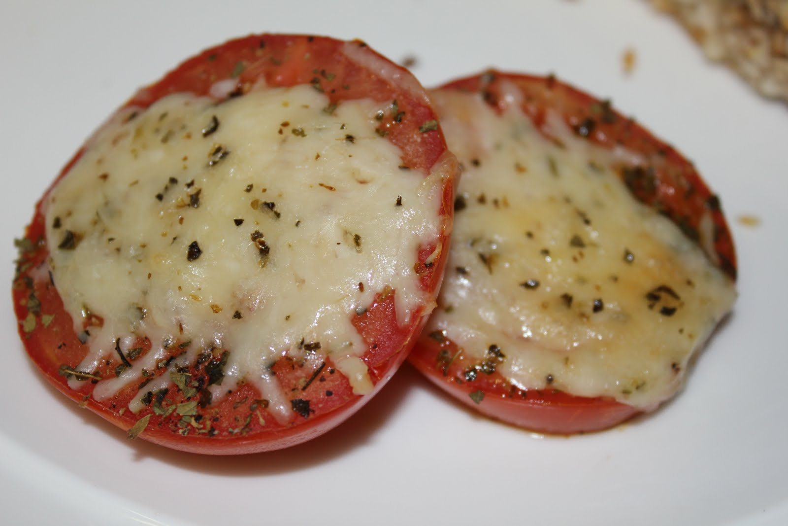 Simply Made...with Love: Baked Parmesan Tomatoes