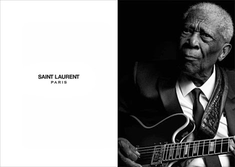 Chuck Berry by Hedi Slimane for Saint Laurent 'Music Project'