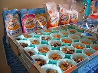 Goldfish bar for goldfish birthday party