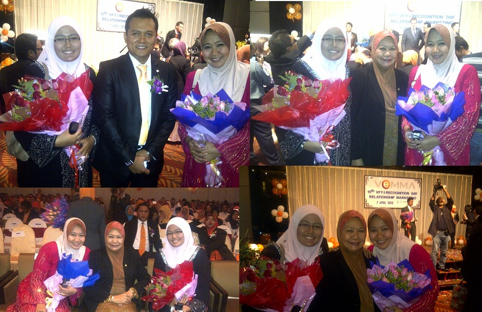 Hari bersejarah pada Vemma Fast Start Training  7th April 2012 @ Eastin Hotel Damansara.