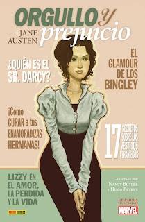 Orgullo y prejuicio Jane Austen cómic adaptación
