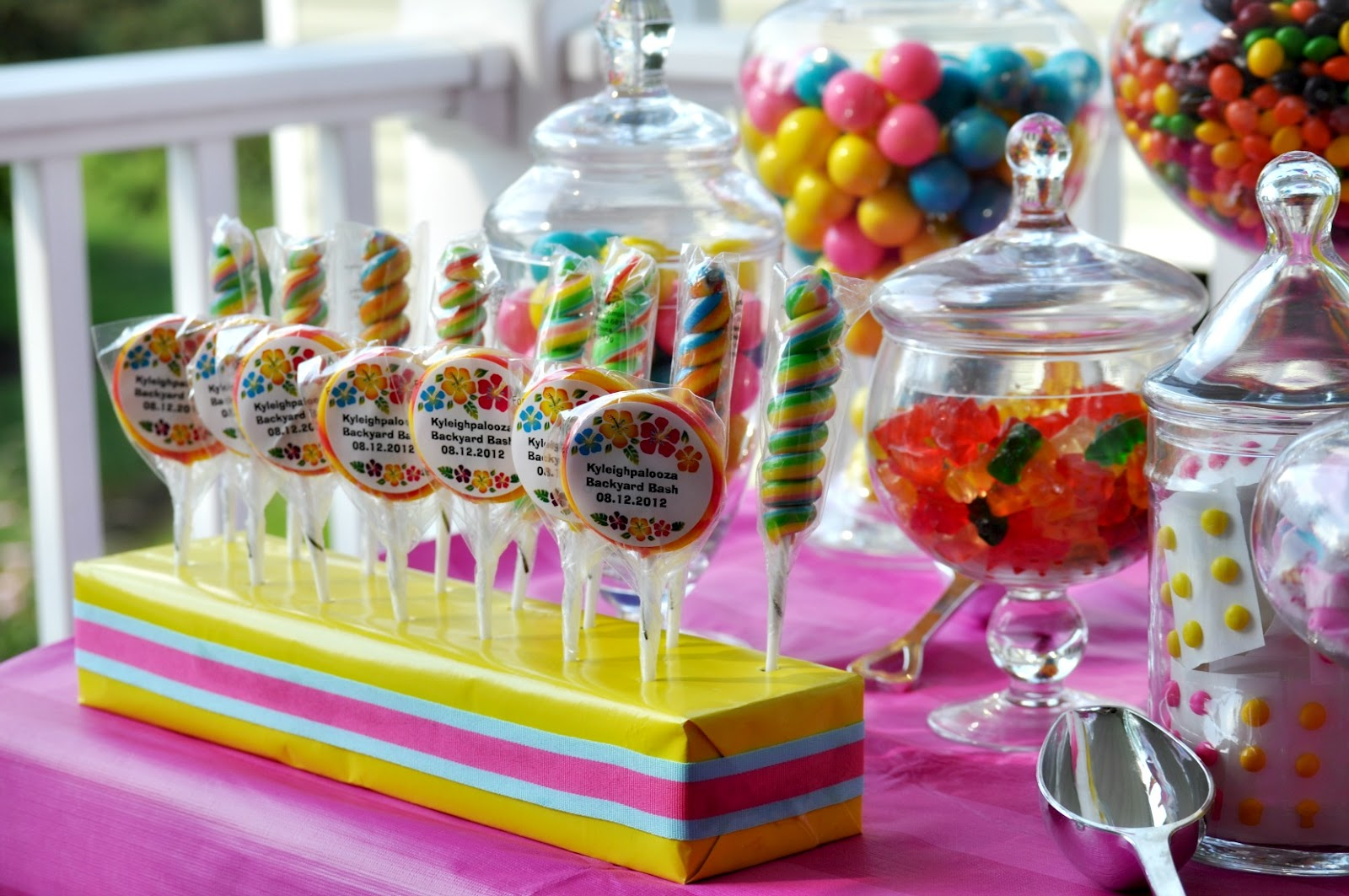 Party Theme Candy On Pinterest  Party Invitations Ideas
