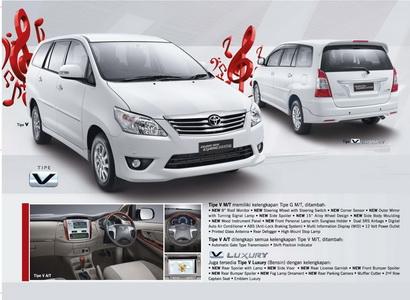 Brosur Mobil Toyota Grand New Kijang Innova Baru 2012