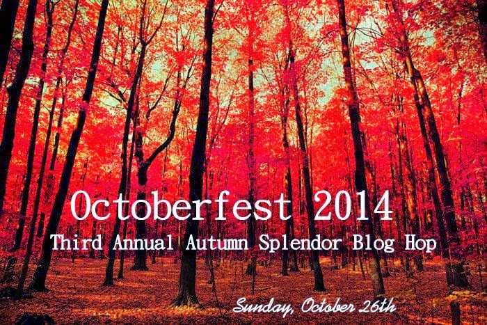 THIRD ANNUAL  OCTOBERFEST  BLOG HOP Sunday October 26, 2014