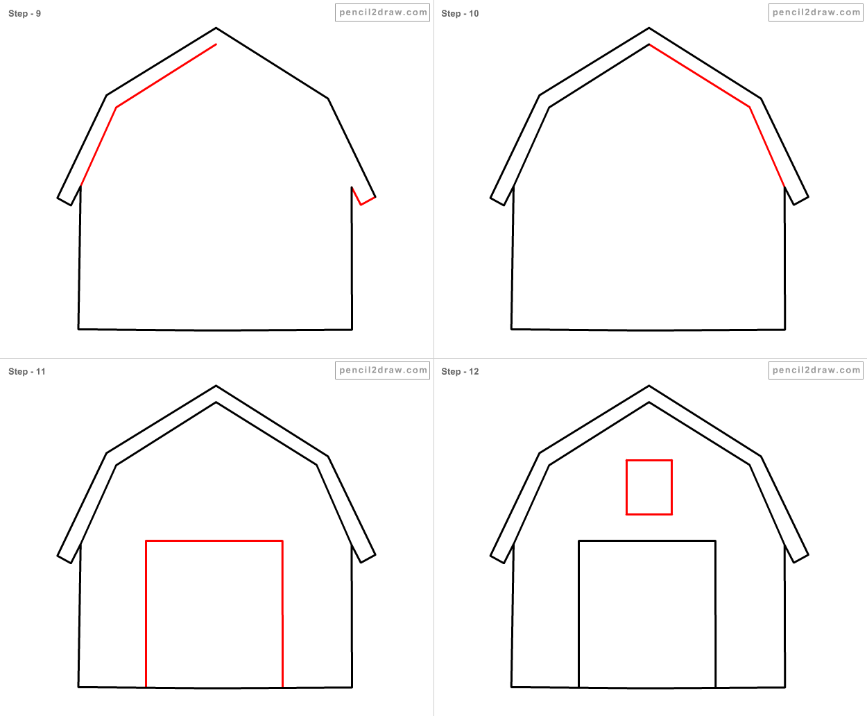1000 images about school days on pinterest teacher for How to draw a farmhouse