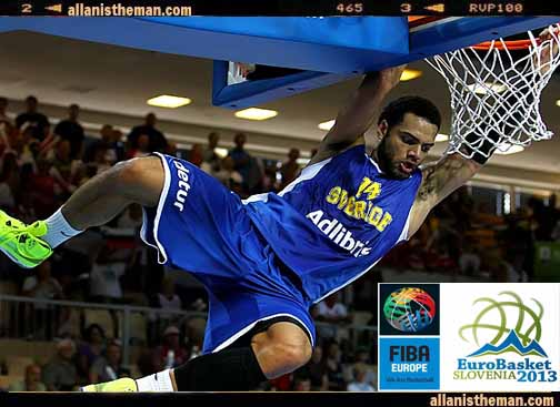 EuroBasket 2013: Sweden upsets Russia