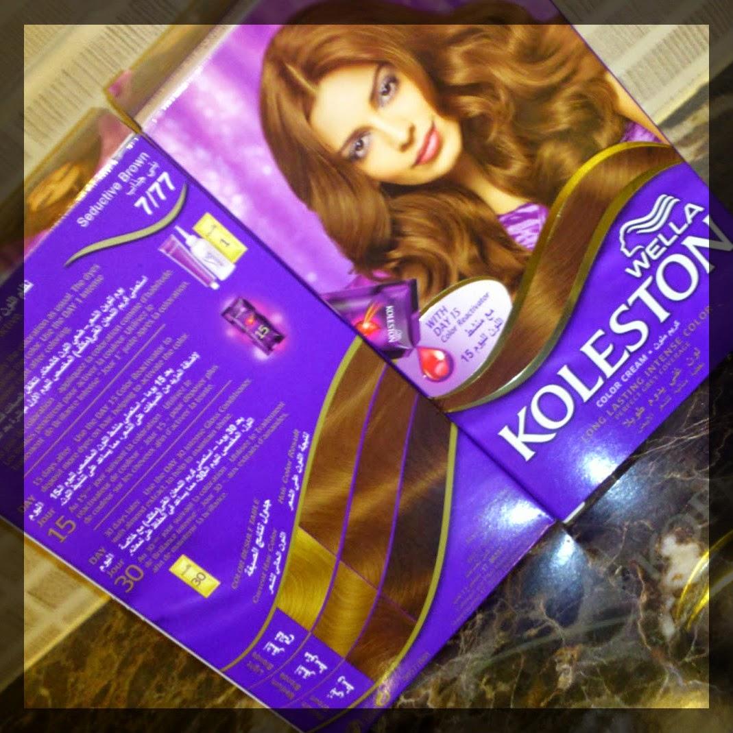 de ma dernire coloration koleston perfect wella de la collection deep brown je vous donne plus de dtails sur cette nuance blond marron intense 777 - Coloration Koleston