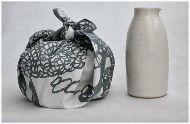 envolver regalos de una forma original y divertida furoshiki