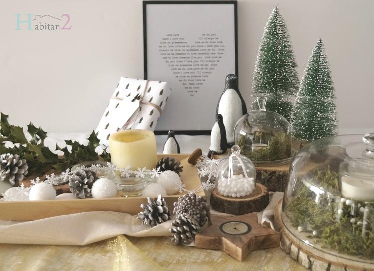 Diy centro navideño nórdico con toque natural by Habitan2