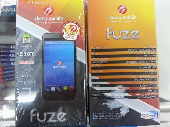Cherry Mobile Fuze Box