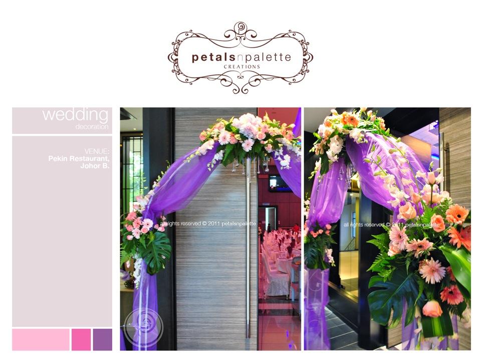 Wedding event decoration wedding decoration malaysia floral wedding decor fresh flower arch junglespirit Images