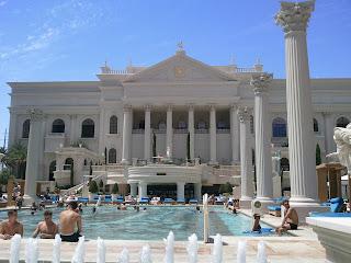 piscina Caesar´s palace