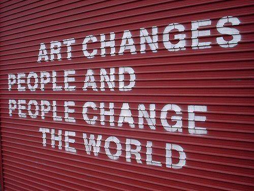 the changes of art during the In this article, i discuss the need for curriculum changes in finnish art education   the need for a shift in art education evolves from social changes and reflects.