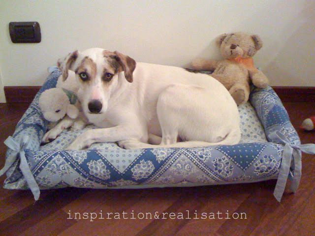 inspiration and realisation: DIY fashion blog: cheap&chic pet bed