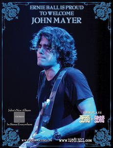 John Mayer Strings, Picks and Accessories