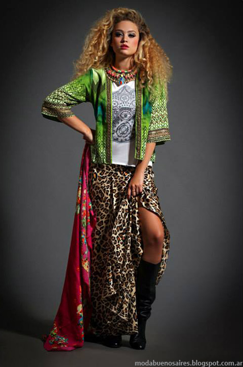 MAxifaldas otoño invierno 2015 Sophya. Ropa de mujer de moda.