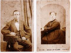 Patrick and Bridget McIntyre in San Francisco, c1865