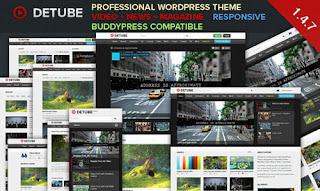 WordPress Theme Video yang Responsive