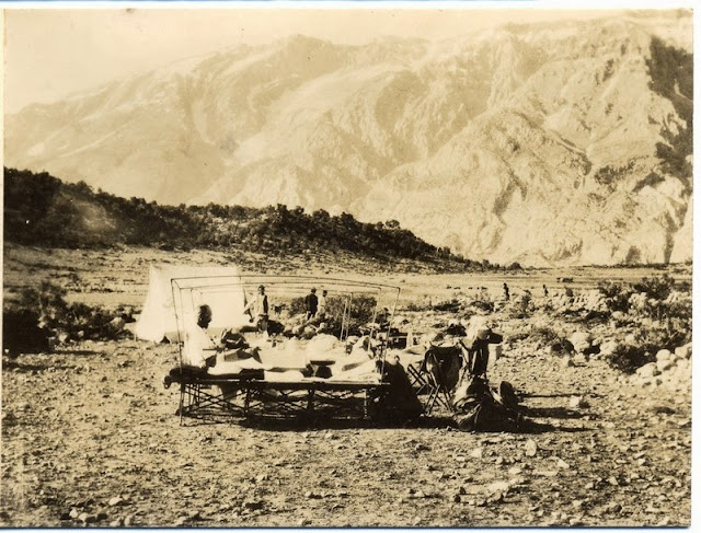 Aiuuk Bivouack, Bakht-i-ari Mountains, Persia