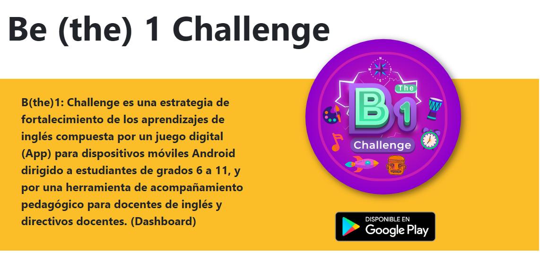 B The 1 Challenge