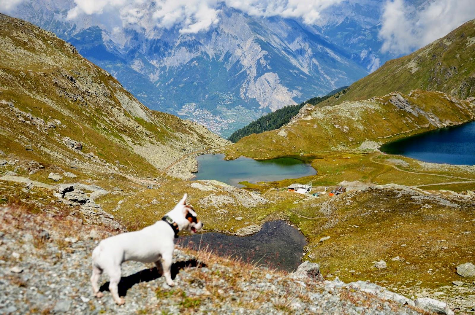 lac des Vaux Verbier andar excursión hike randonnée