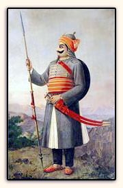 Painting of Maharana Pratap